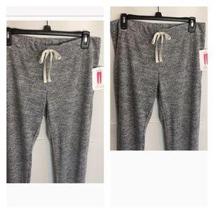 NWT super soft jogger size small dark grey